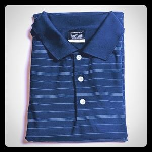 Nike Golf Drifit Polo Navy Blue XL Extra Large